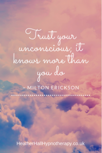 Trust your unconscious, it knows more than you do - Milton Erickson Quote