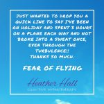 Fear of flying  tips